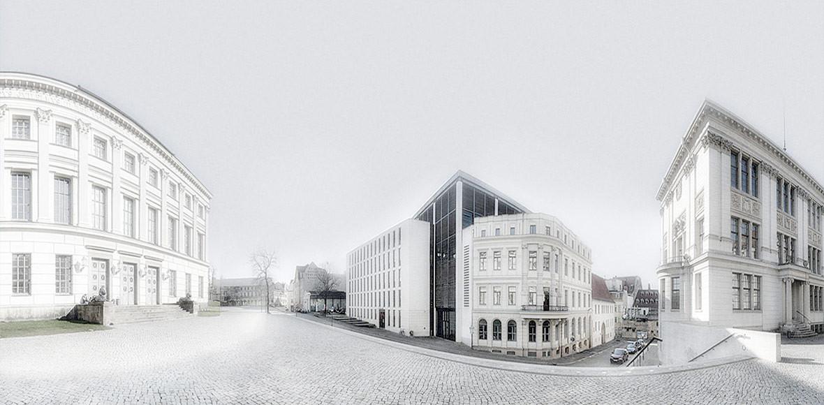 GFGK Startseite / Panorama Universitätsgebäude